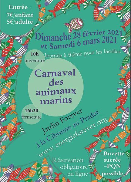 Annulation suite à la crise sanitaire liée à la COVID – Carnaval au jardin Energie forever à Le Pradet - 0
