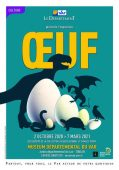 Affiche expo «Oeuf» 2020/21