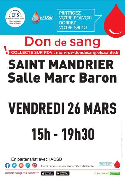 Collecte de sang à Saint-Mandrier-sur-Mer - 0