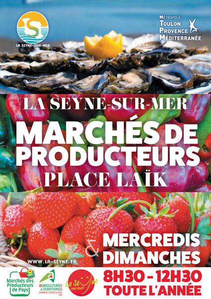 Marché des producteurs de pays à La Seyne-sur-Mer - 0