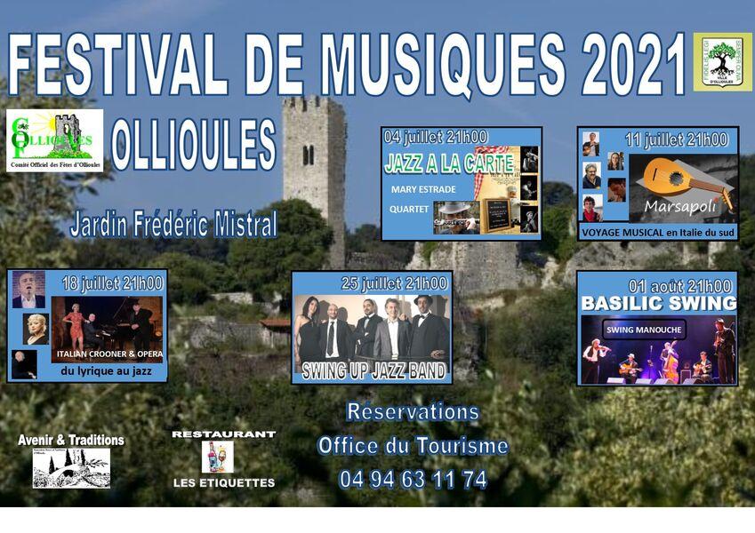 Festival de musique : Italian crooner & opéra à Ollioules - 0