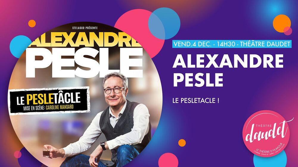 One man show «Le Pesletacle» d'Alexandre Pesle à Six-Fours-les-Plages - 0