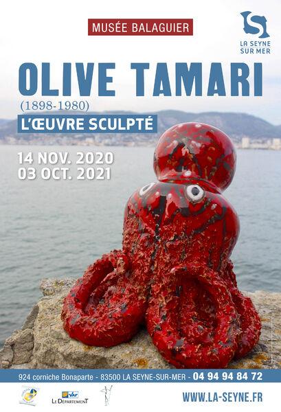 Exposition d'Olive Tamari «L'Œuvre Sculpté» (1898 – 1980) à La Seyne-sur-Mer - 0