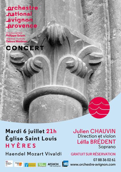Concert Orchestre National Avignon-Provence à Hyères - 0