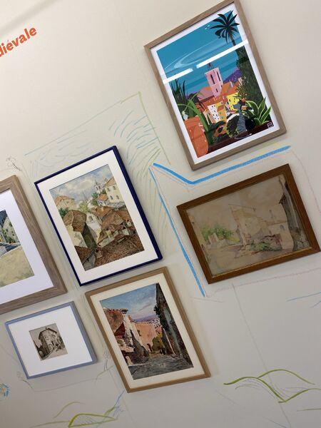 Exposition ARCHIVILLE – Hyères, l'architecture de la ville en dessin à Hyères - 14