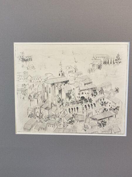 Exposition ARCHIVILLE – Hyères, l'architecture de la ville en dessin à Hyères - 16