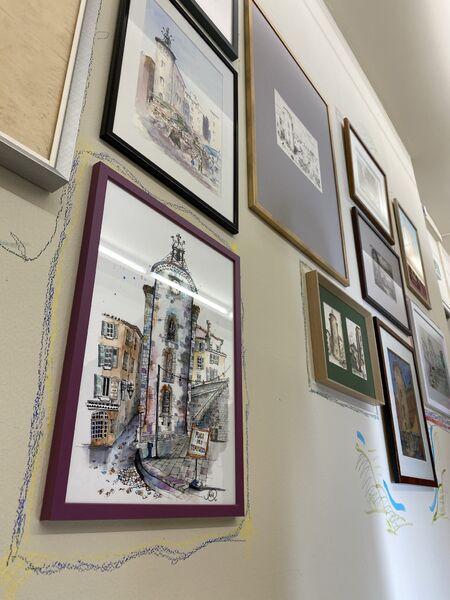 Exposition ARCHIVILLE – Hyères, l'architecture de la ville en dessin à Hyères - 19