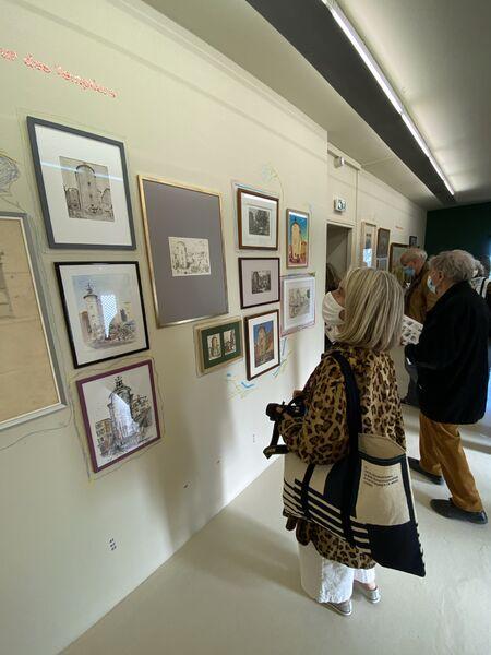 Exposition ARCHIVILLE – Hyères, l'architecture de la ville en dessin à Hyères - 20