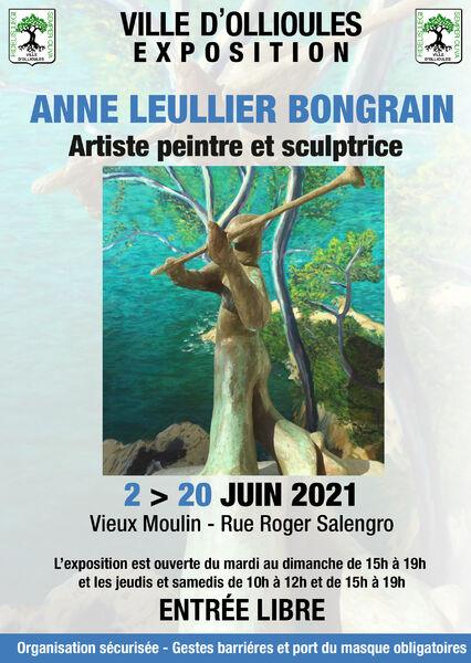 Exposition de peinture et sculpture d'Anne Leullier Bongrain à Ollioules - 0