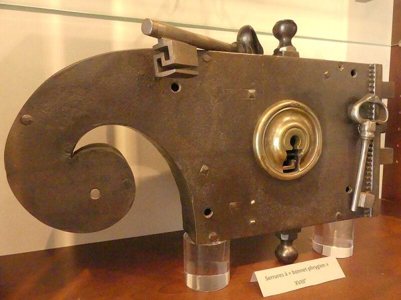 Exposition permanente : serrures, cadenas et clés du XIe au XVIIIe siècle à Ollioules - 1