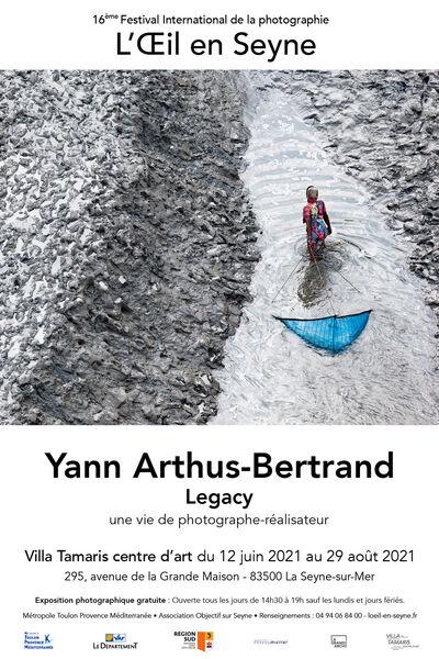 Exposition «Legacy» de Yann Arthus-Bertrand à La Seyne-sur-Mer - 0
