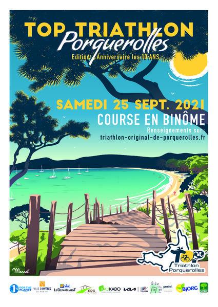 Triathlon original de Porquerolles à Hyères - 0