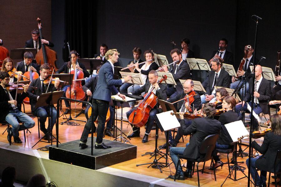 Musique: «Secession Orchestra» Direction Clément Mao – Takacs avec Fanny Ardant à Ollioules - 0