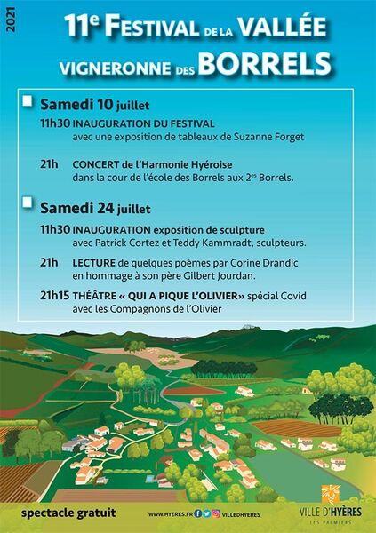 Festival de la vallée vigneronne des Borrels à Hyères - 0