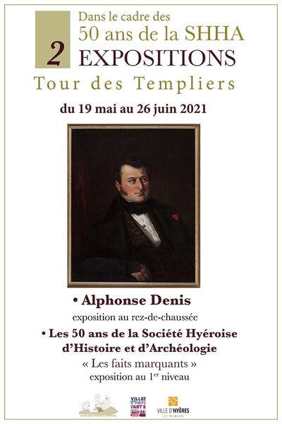 Exposition Alphonse Denis et les 50 ans de la Société Hyéroise d'Histoire et d'Archéologie & la ville d'Hyères à Hyères - 0