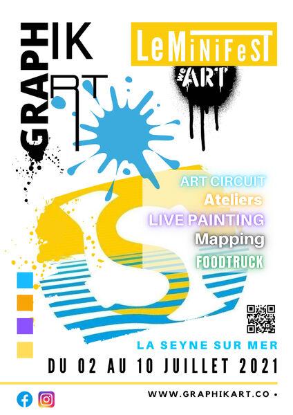 Festival de Street-Art MiniFest à La Seyne-sur-Mer - 0
