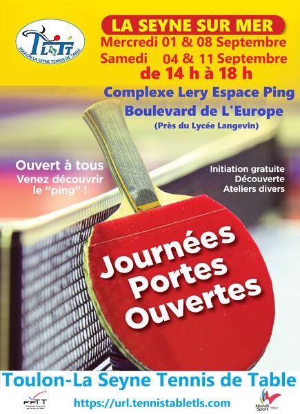 Portes ouvertes du club de Tennis de Table de Toulon-La Seyne à La Seyne-sur-Mer - 0